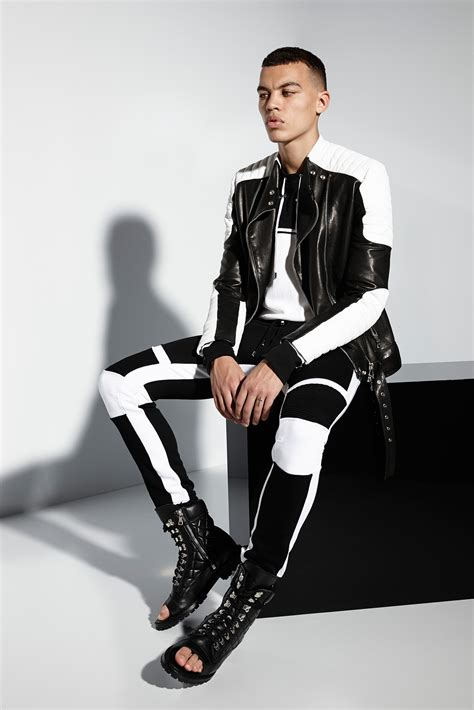 fitted hoodie mens balmain summer masculine and edgy menswear 2018