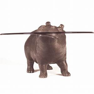 bespoke bronze sculpture mark stoddart coffee tables With hippo coffee table