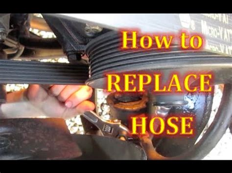 Steps On How To Change A Leaking Power Steering Hose High