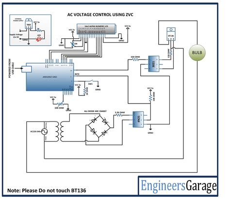 Arduino Based Voltage Control Using Zero