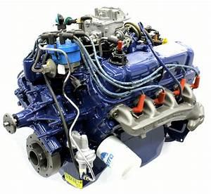 New Ford V8 Complete Engine Motor 2v 1980