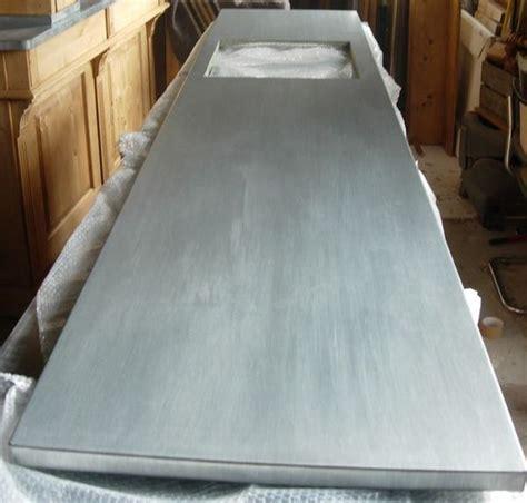plan de travail en zinc pour cuisine plan de cuisine en zinc plan de travail zinc