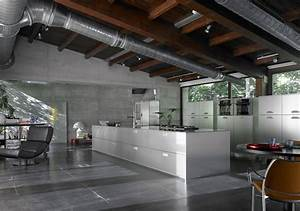 Kitchen Interior Design Ideas – Industrial-Style Kitchen ...