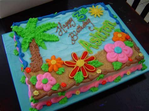 Finally, A Luau Cake That Presents A Bit Of A Challenge
