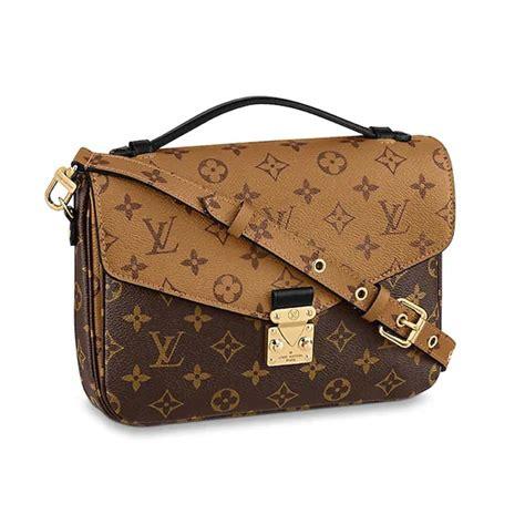 louis vuitton lv women pochette metis bag  monogram reverse coated canvas lulux