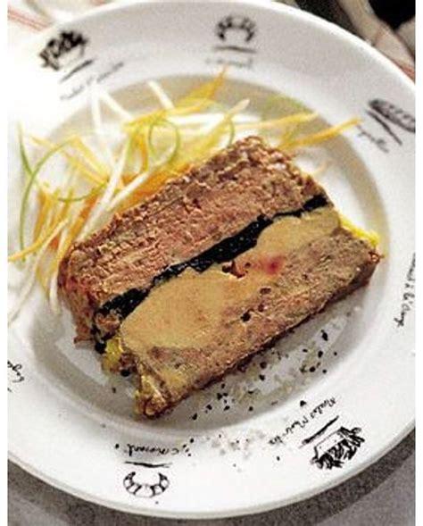 Recette Foie Gras De Canard En Terrine by P 226 T 233 De Canard Truff 233 Au Foie Gras Pour 4 Personnes