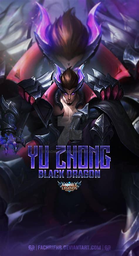 yu zhong black dragon  fachrifhr  deviantart