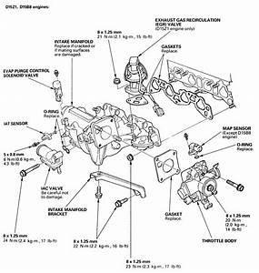 d16z6 engine diagram data wiring diagram site With d16z6 intake manifold diagram