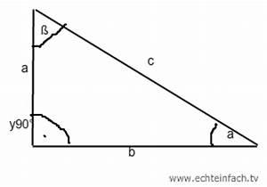 Winkel Berechnen Dreieck : sinus wie kann ich ein dreieck nur mit 90 winkel ausrechnen mathelounge ~ Themetempest.com Abrechnung