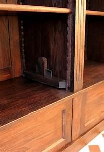 Bücherwand Mit Leiter : b cherwand eiche massivholz mit leiter 300x350x35cm ~ Indierocktalk.com Haus und Dekorationen