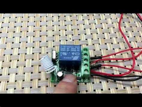 Channel Dcv Remote Control Switch Youtube