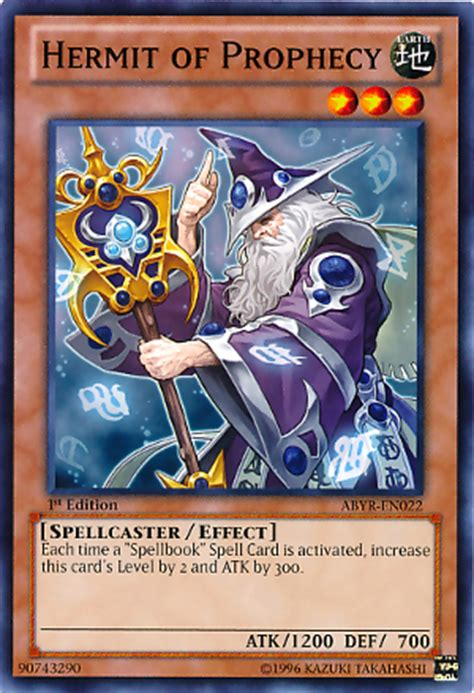hermit of prophecy wikia yu gi oh tiếng việt fandom