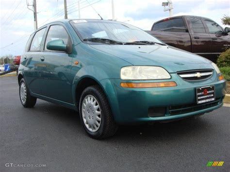 2004 Modern Green Chevrolet Aveo Hatchback #63723920