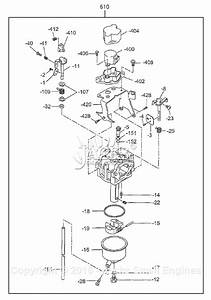 Robin  Subaru Rg4300is Parts Diagram For Carburetor