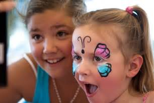 Butterfly Face Painting Kids