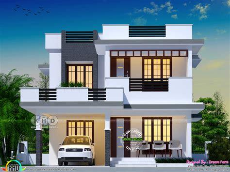 4 bhk flat roof modern home 2049 sq