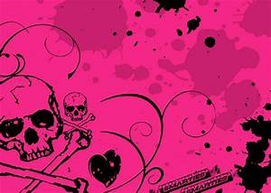 Pink Skull Backgrounds For Powerpointjpg Pictures