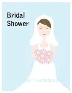 printable wedding shower invitations bridal shower invitations free printable bridal shower invitations cards