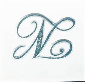 Amazon.com: Letter N Sticker - Tattoo It Laptop Stickers ...