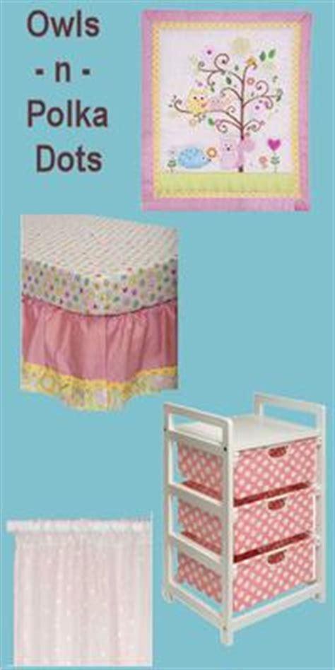 owl  polka dots baby nursery theme