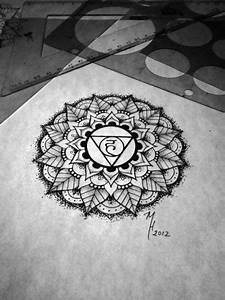 throat chakra tattoo | Tumblr