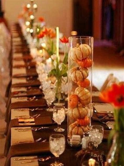 dining room table centerpiece ideas 18 ways to decorate your pretty thanksgiving table