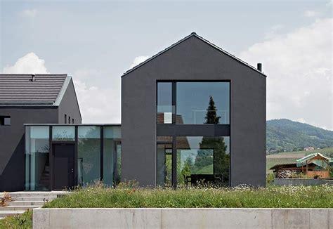 Einfamilienhaus Mit Doppelgarage Modern by Einfamilienhaus Neubau Mit Doppelgarage Modern Holz Haus