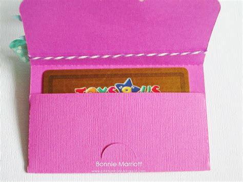 gift card holder template p i n k b o n b o n s october 2011