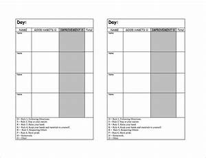 Daily Behavior Chart Template Free 10 Behavior Tracking Templates Free Sample Example