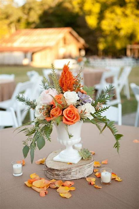 50 Beautiful Centerpiece Ideas For Fall Weddings Guide