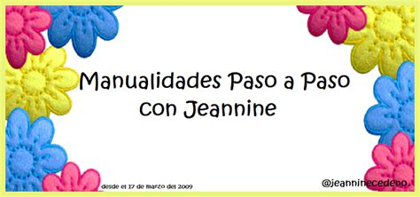 paso a paso con jeannine