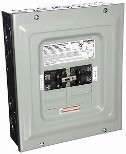 Electrical - Generator Manual Transfer Switch
