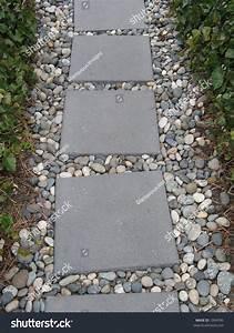 Concrete Block Path Stock Photo 1004590 - Shutterstock