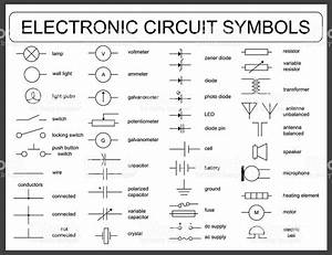 Electric Circuit Symbols   Coolguides