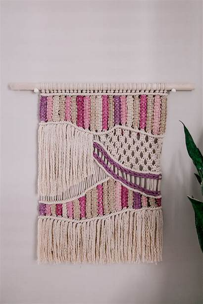 Macrame Hanging Tutorial Beginners Cotton Natural Dyed