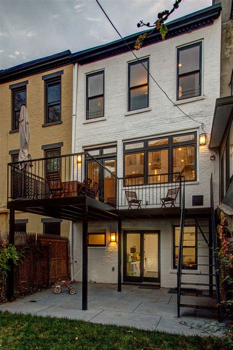Brownstone Renovated Home by A Classic Brownstone Home