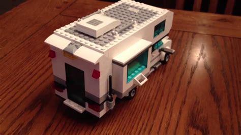 lego camper  pick  truck bed youtube