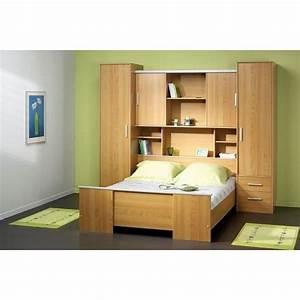 Pont De Lit 140 : ensemble lit environement achat vente lit complet chambre pont cdiscount ~ Mglfilm.com Idées de Décoration