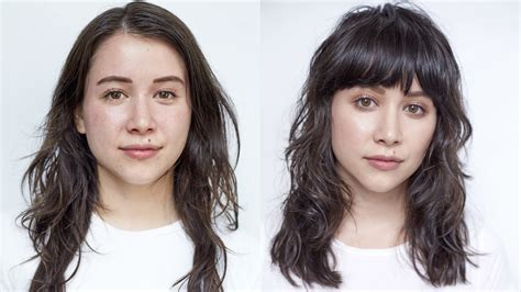 This Awesome Hair Makeover Will Convince You To Get Bangs