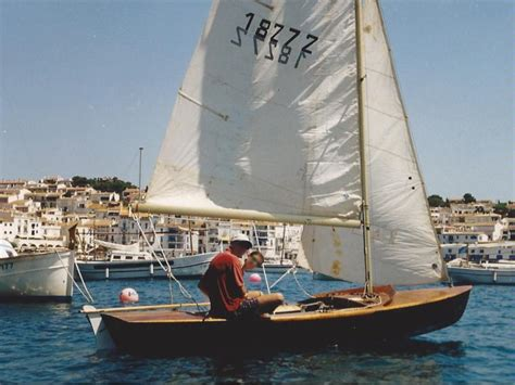 Draft Of Boat In Spanish by Snipe In Barcelona Sailboats Used 57515 Inautia