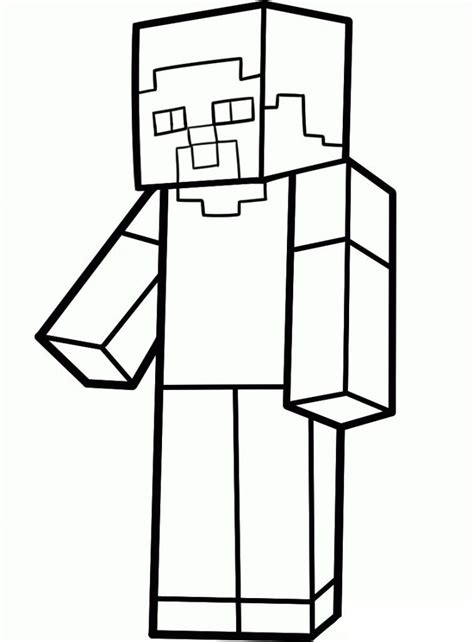 minecraft zombie coloring page   clip art  clip art  clipart library