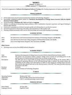 Free Cv Sles by 4 Curriculum Vitae Exle Pdf Cashier Resumes