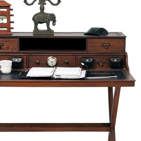 bureau colonial design wooden bureau colonial desk office furniture