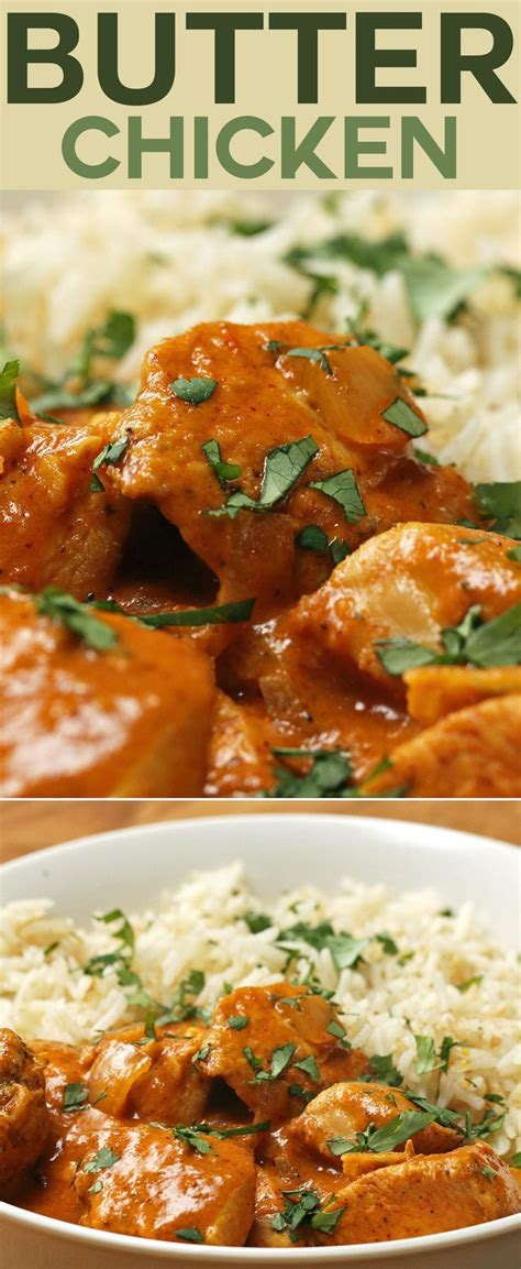 The best butter chicken is creamy, not oily, and not too sweet. Easy Butter Chicken | Recipe in 2020 | Indian food recipes, Butter chicken, Food recipes