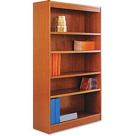 Alera Bookcase by Alera Square Corner Bookcase Wood Veneer 36 Quot X 12 Quot X 60