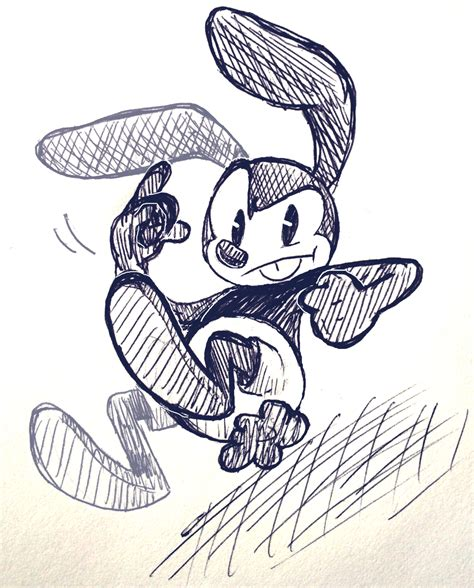Just Some Rabbit Oswald The Lucky Rabbit Lucky Rabbit