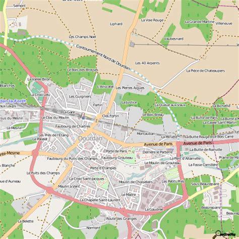Mairie Ville De Plan De Plan Dourdan Carte Ville Dourdan