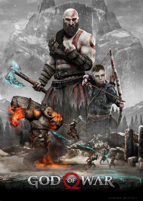 God Of War Poster Nerd God Of War Kratos God Of War War