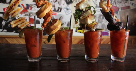 extreme bloody marys  las spare tire thrillist