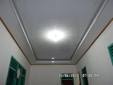 kang bang lampung plafon pvc pemasangan plafon pvcrumah